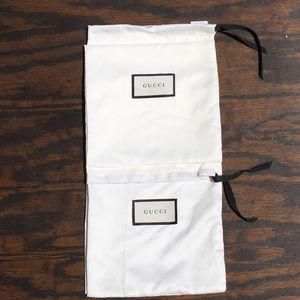 Gucci Dust bags!